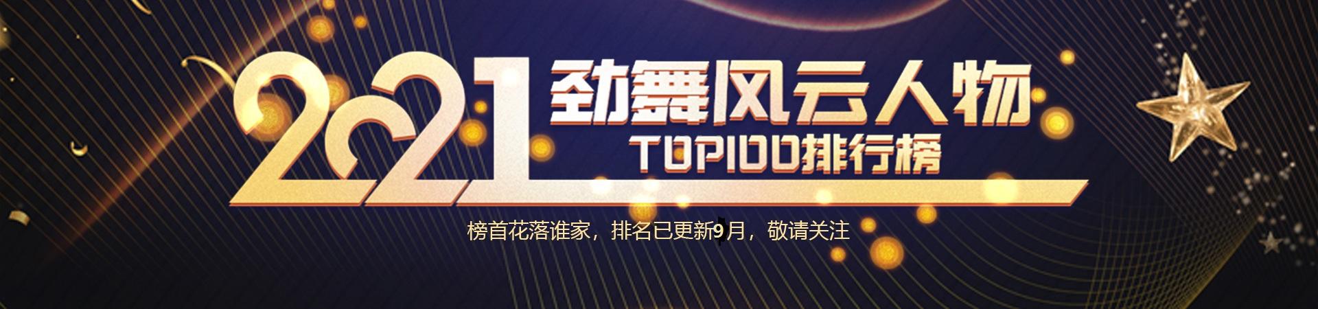 2021劲舞风云人物TOP排行榜月榜公示公告